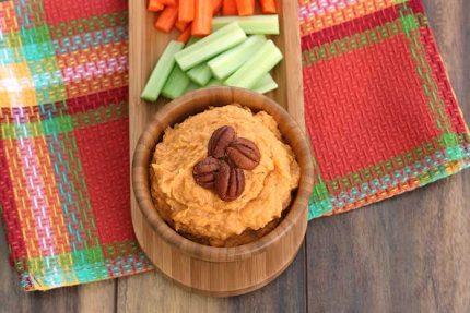 Sweet Potato Bean Dip (Day-After Dip)
