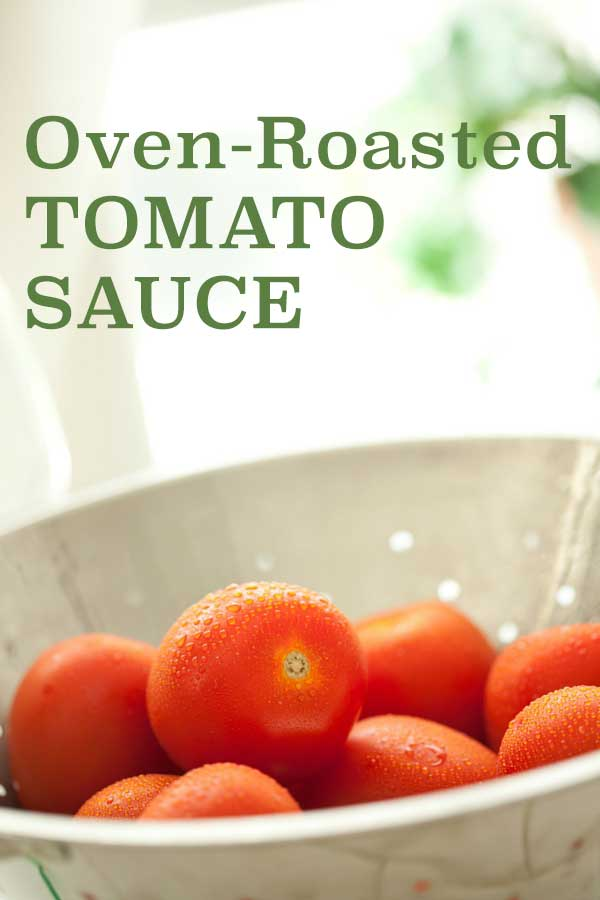 Oven-Roasted Tomato Sauce | diabeticfoodie.com