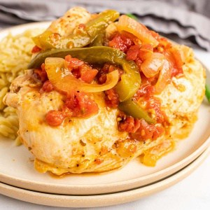 Low-Carb Chicken Cacciatore