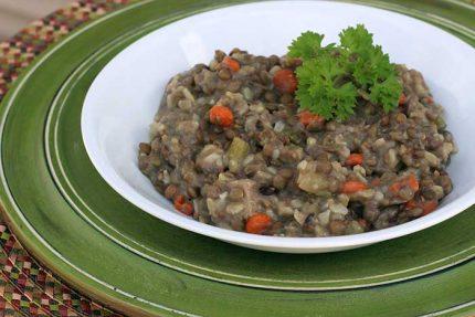 Turkey Lentil Soup (Low-Sodium)