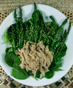 Asian Salad with Asparagus and Sesame from Salad as a Meal