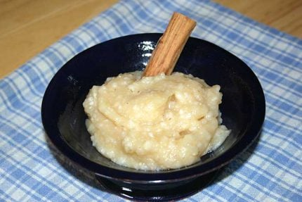 Barley Applesauce (Apple Barley Pudding)
