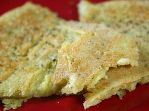 Chickpea Flour Crepes: Socca