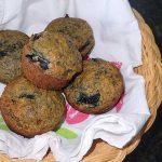 Cherry Flax Muffins