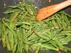 Stir-Fried Yard-Long Beans