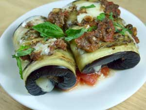 Eggplant Involtini from Emeril Lagasse's Sizzling Skillets