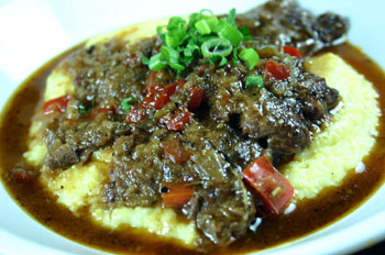 Grillades and Grits from Emeril Lagasse's Sizzling Skillets