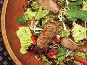 Wok-Seared Duck Salad from Emeril's Sizzling Skillets and Other One-Pot Wonders