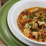 Chunky Chicken and Spaghetti Soup