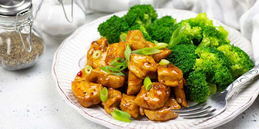 lowcarb general tso's chicken  diabetic foodie