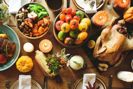5 Ways to Stay on Track for Thanksgiving