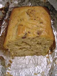 Lemon Loaf with Almonds