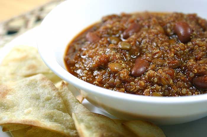 Quinoa Lentil Chili