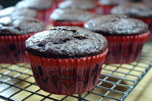 Chocolate Ginger Muffin Cakes