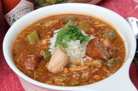 Creole Gumbo With Buffalo Andouille by 30AEATS