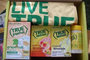 True Lemon gift box