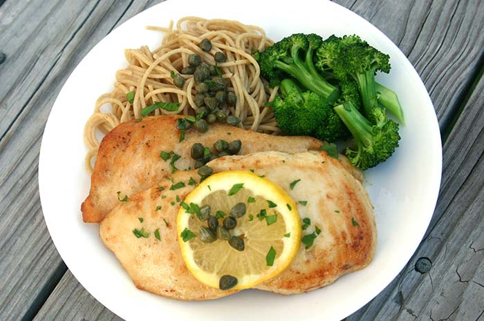 Chicken Scallopini Diabetic Foodie