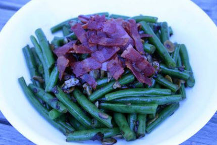 Sweet and Crunchy Green Beans