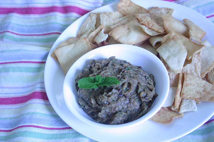 Roasted Eggplant and Onion Dip