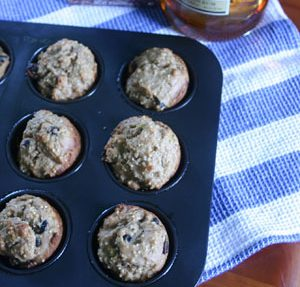 Millet Rum Raisin Muffins from Sugar and Salt by Annie Mahle