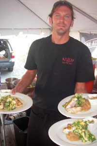 Chef Seth Foutz of Ketch 55 in Avon, NC
