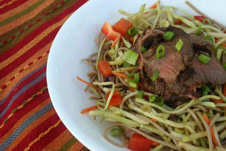 Far East Steak Salad