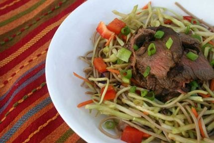 Far East Steak Salad for #SundaySupper