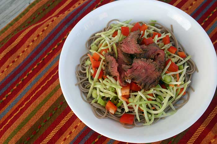 Far East Steak Salad