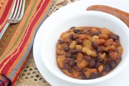 Hawaiian Style Baked Beans from Momma's Meals