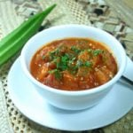 Okra Stew with Shrimp and Andouille