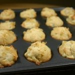 Pear, Ginger and Macadamia Nut Mini Muffins
