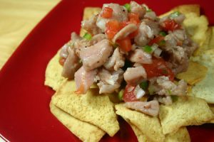 Tuna Ceviche