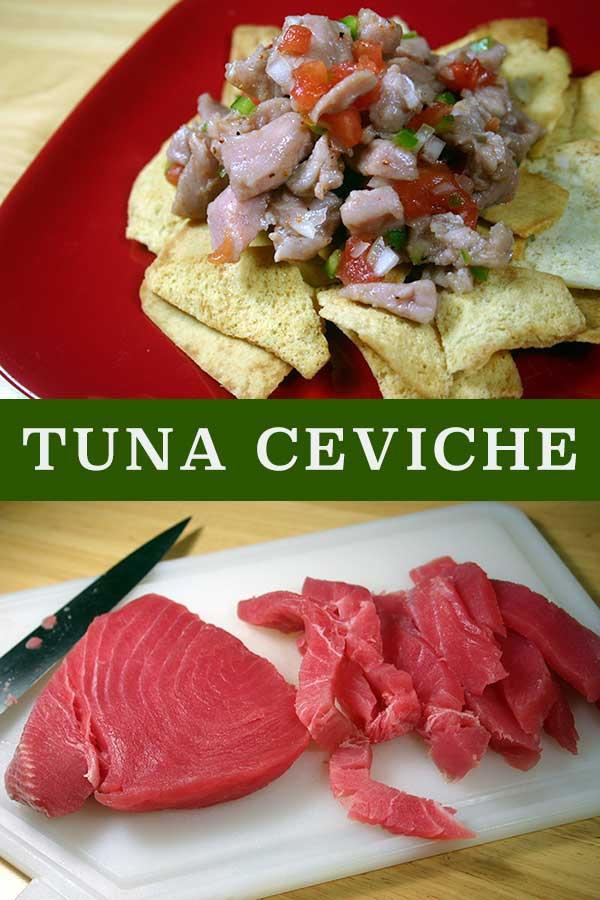 Tuna Ceviche | diabeticfoodie.com