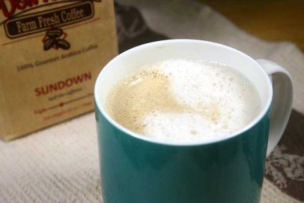 Skinny Vanilla Almond Latte (dairy-free)