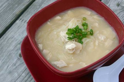Spicy Coconut Turkey Soup for #SundaySupper
