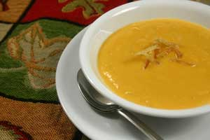 Gingered Sweet Potato Bisque