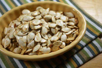 Curried Squash Seeds (or Pumpkin Seeds)