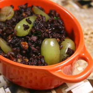 Orange Pecan Black Rice