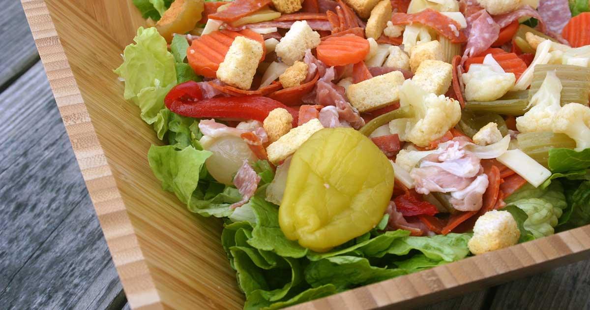 Italian Sub Salad for #SundaySupper