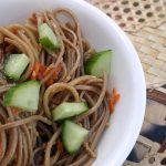 Soba Noodles with Eggplant