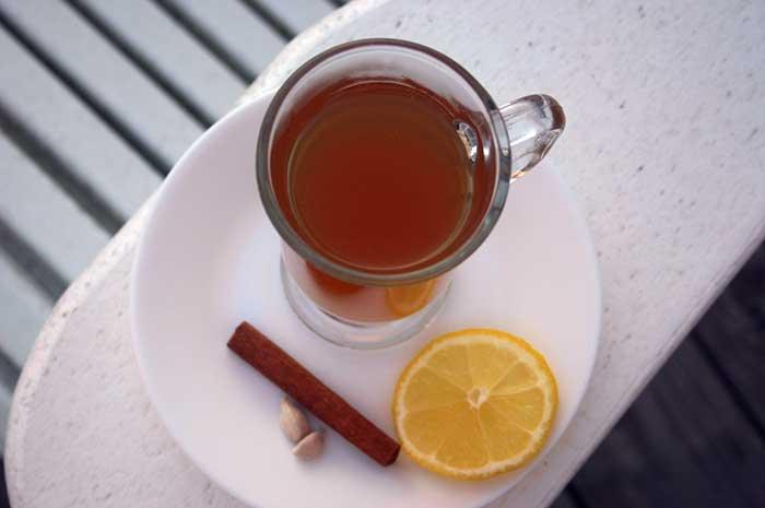 Spiced Ginger Tea