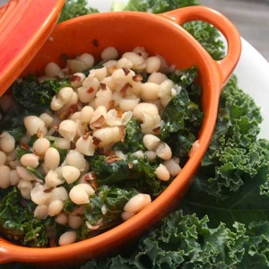 White Beans with Kale