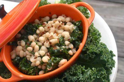 White Beans with Kale (Vegan, Gluten-free)