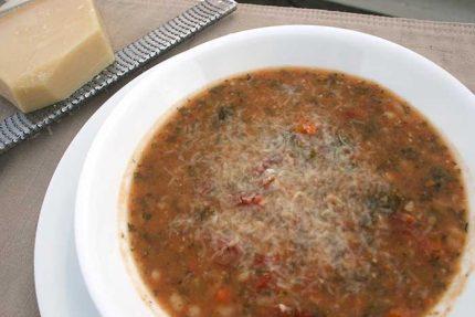 White Bean and Kale Soup (Gluten-free)