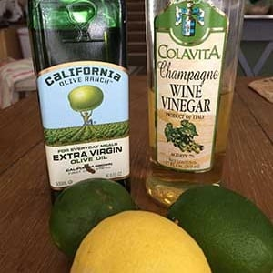 Lemon Lime Vinaigrette
