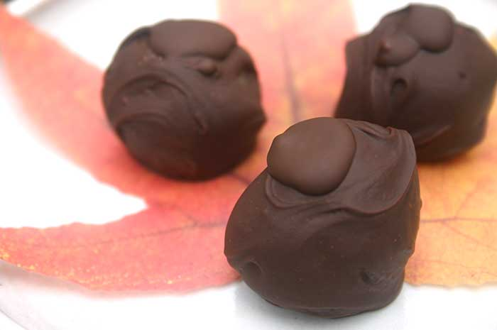 Almond Truffles (vegan, gluten-free)