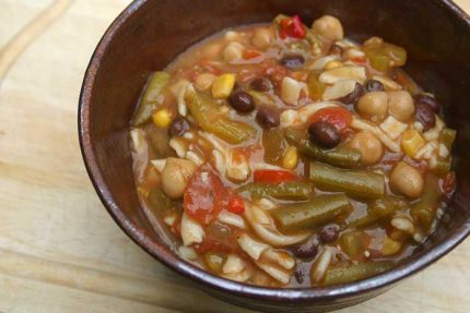 Mexican Minestrone (Vegan)