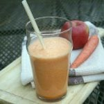 Carrot Fruit Juice with apples and oranges