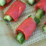 Salmon Cucumber Rolls