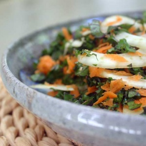 Fennel and Kale Slaw